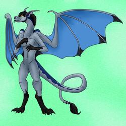 An Anthro Dragon (Gift)
