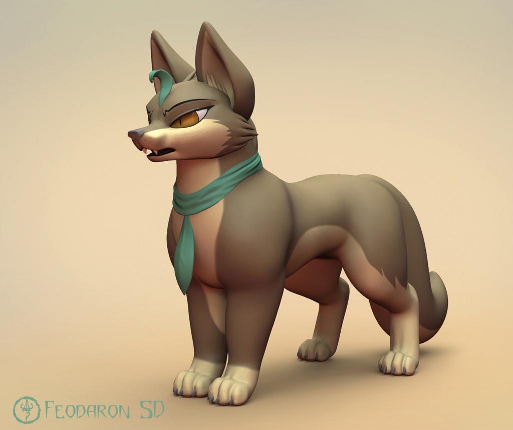 Most recent image: Wrath Dire Wolf 3D
