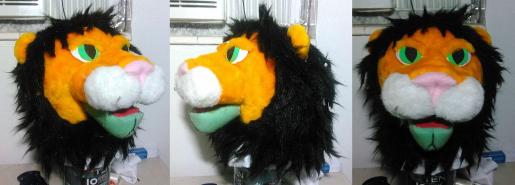 Lion Puppet Update - 5/31/15