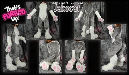 Jakecat Fursuit Parts Commission