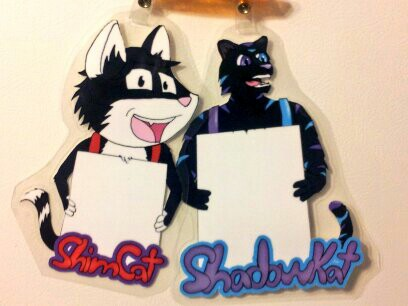Most recent image: Fur Squared 2014 Badges ShimCat & ShadowKat