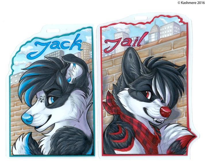 Jack x Jail badges