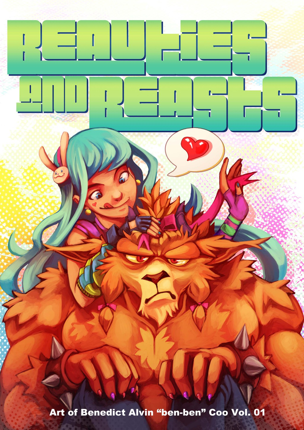 Beauties and Beasts Artbook Cover!
