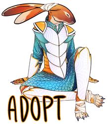 [OPEN] Knight Hare Adoptable