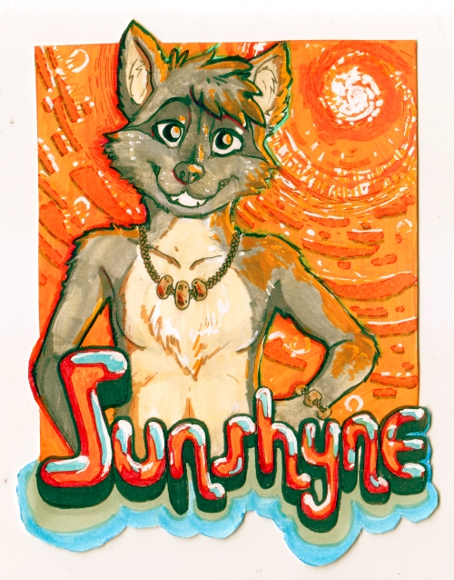 FC2014 Sunny Day Badge by Rain420