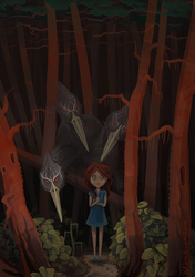 Shadow Forest illustration - 2