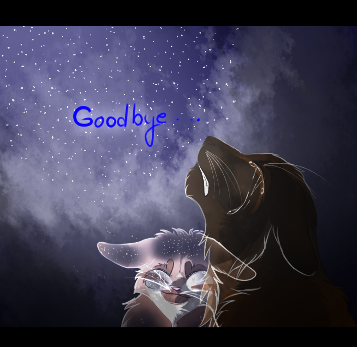 Here Comes Goodbye -Gingerpelt and Rowanshadow -Sp
