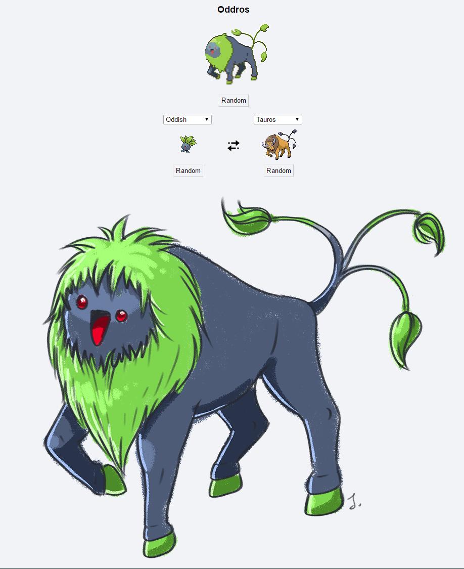 Pokémon Fusion: Oddros