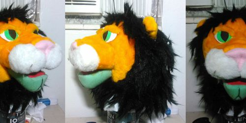 Lion Puppet Update - 5/31/15