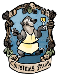 Christmas Mead Label