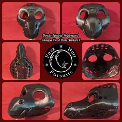 Gender Neutral Point-nosed Dragon Head Base Varian