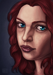 Practice Portrait - 2014 - 1
