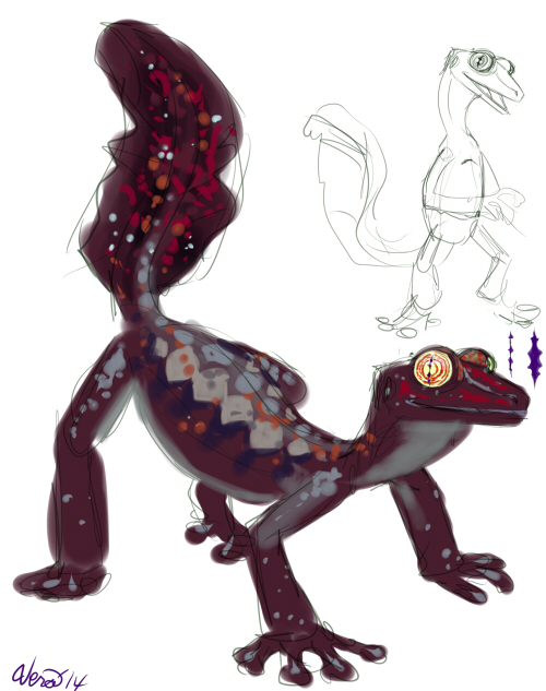 Giant Leaf Tailed Gecko Guy Weasyl
