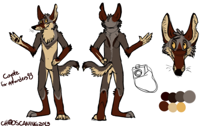 Coyote Character Design [Commission]