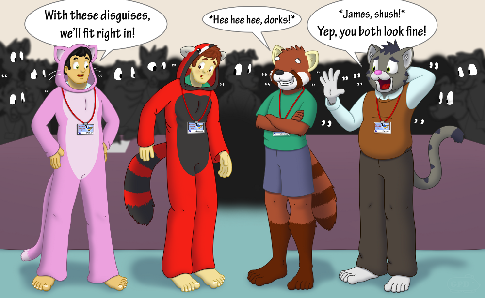 Furries and Wannabe-Furries (COLOR)
