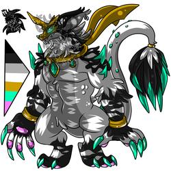 Male Wolf Beast +Design 4 Sale+