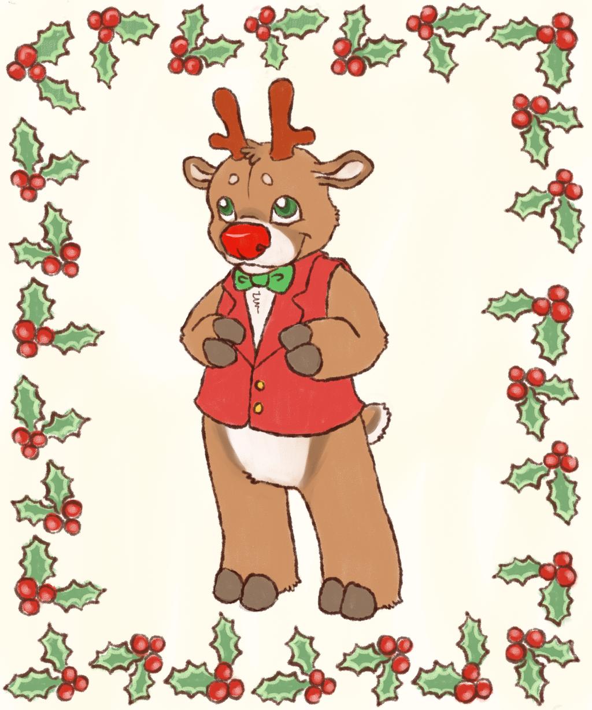 christmas card cutie