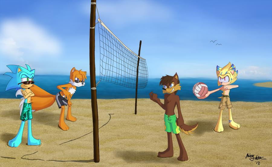 Mizugiwa Beach Volleyball