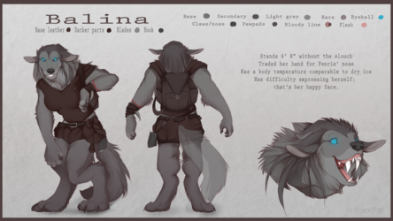 Balina as you've never seen her before