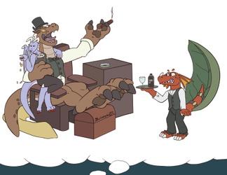 BlingLotzaKoin Dragon