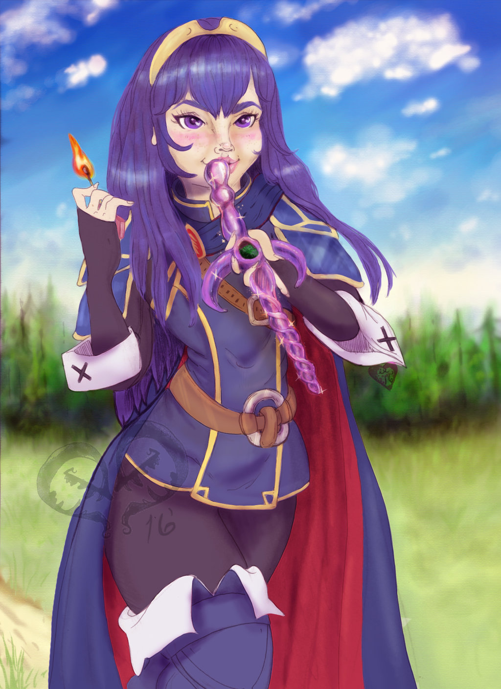 Most recent image: Blaze Up Smash: Princess Lucina