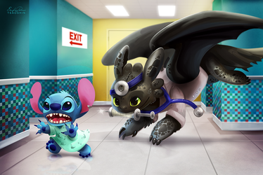 Doctor Toothless