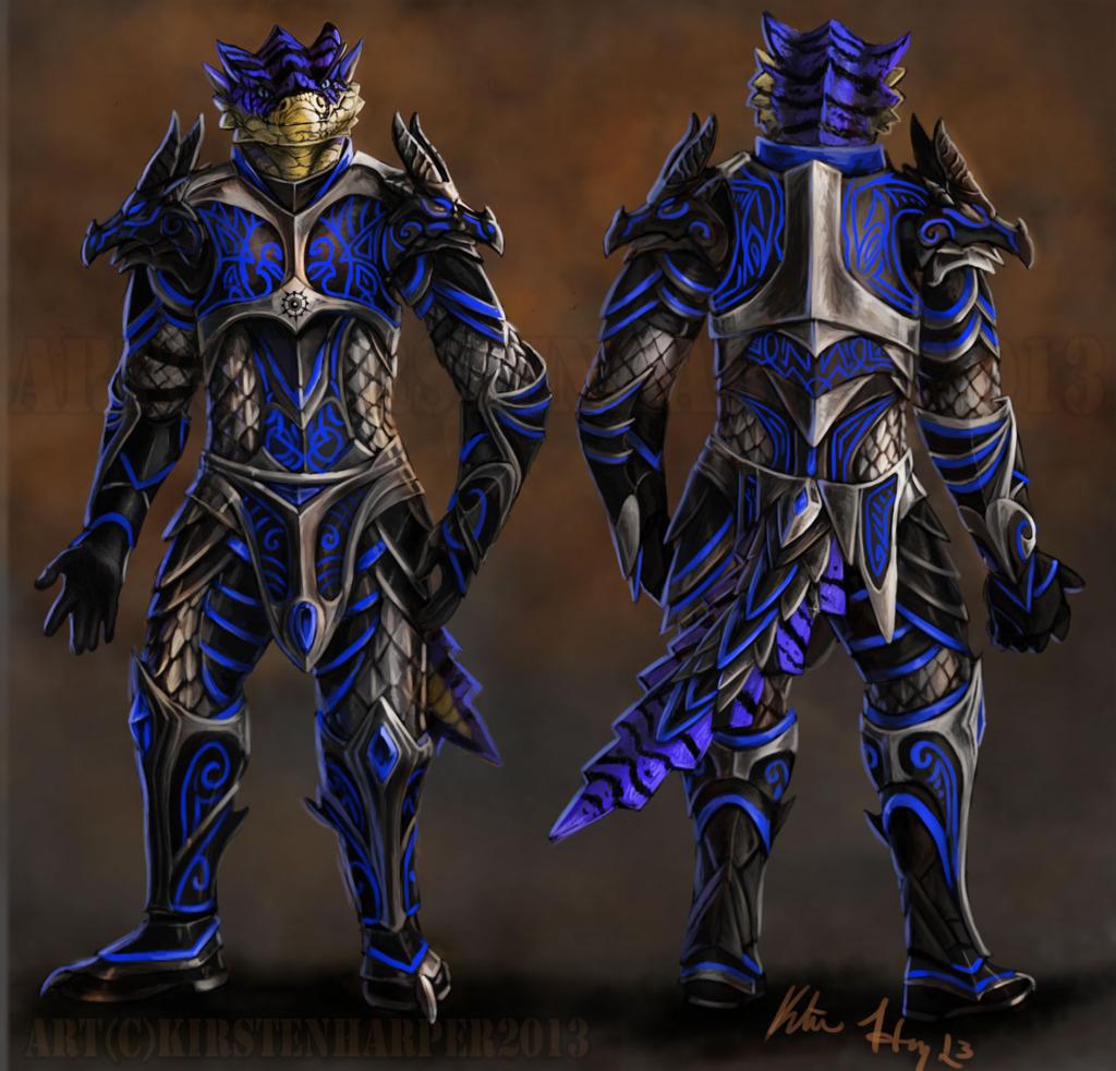 Brekkik Dragonbane Armor