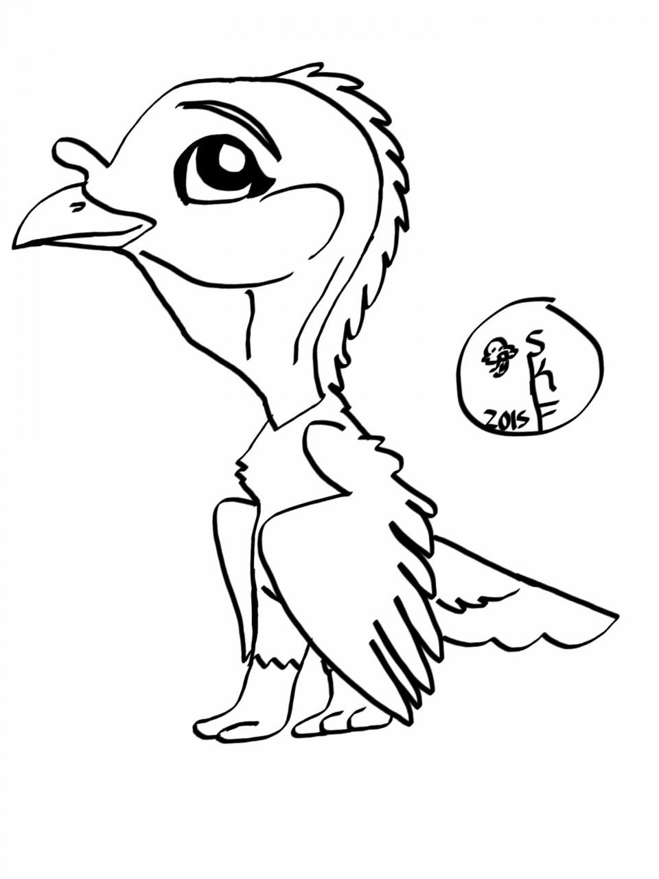 free chibi heritage turkey hen base u2014 weasyl
