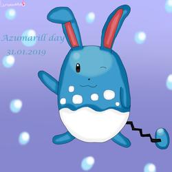 Azumarill day