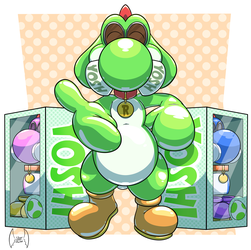 [COM] Welcome to the rubber yoshi life