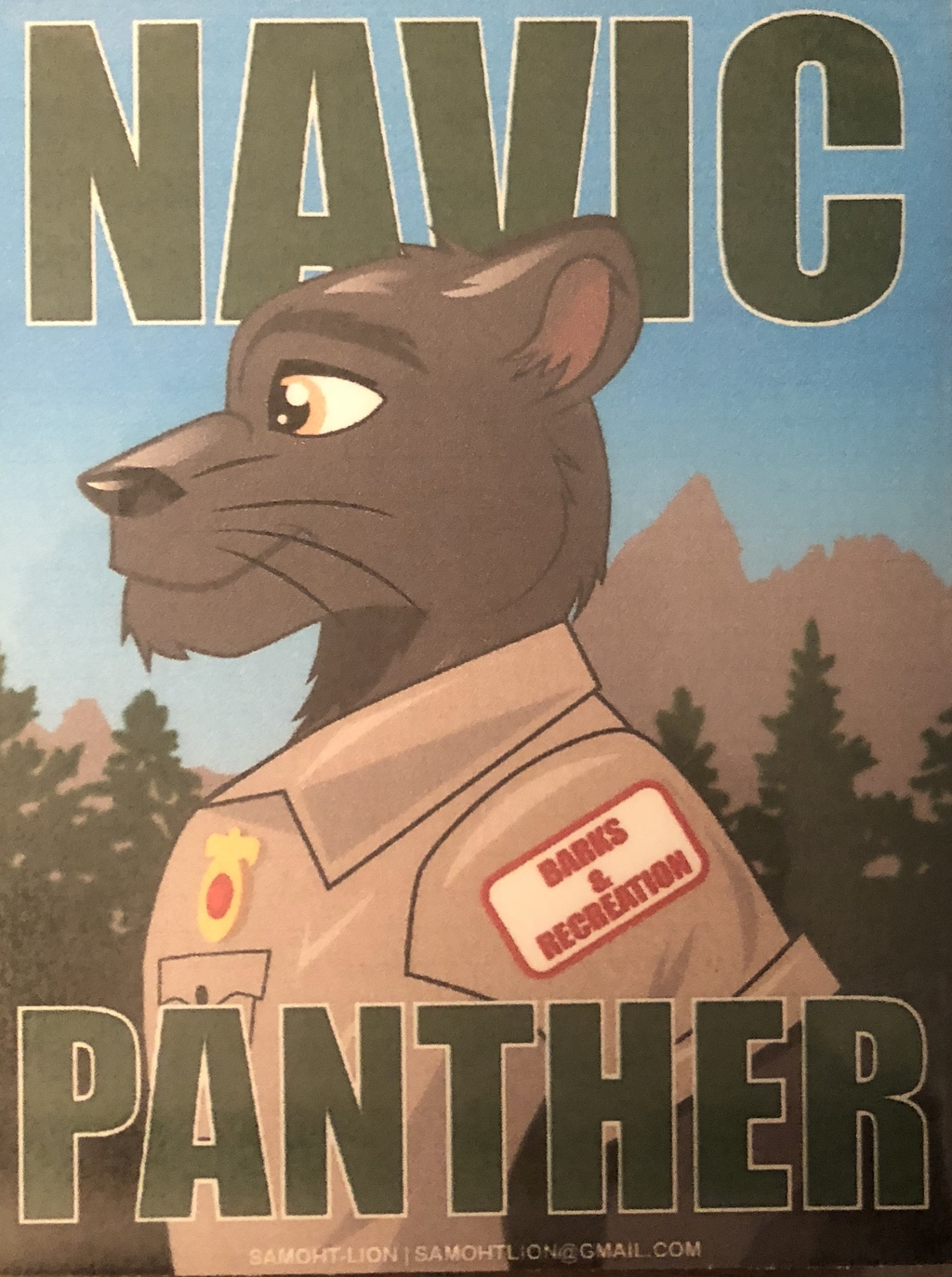Most recent image: Navic Badge by Samoht Lion