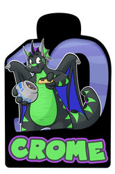 Confuzzled 2017 Badges - Crome