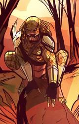 Predator w/ background COLOR !