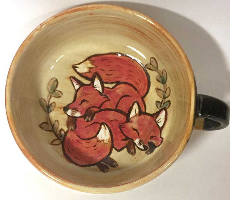 Most recent image: MFF Fox Soup Mug