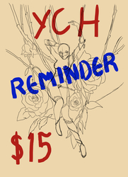 tangled thorns YCH reminder