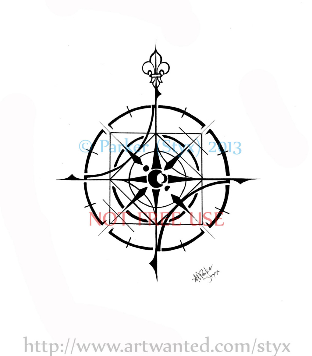 Elemental Compass Rose