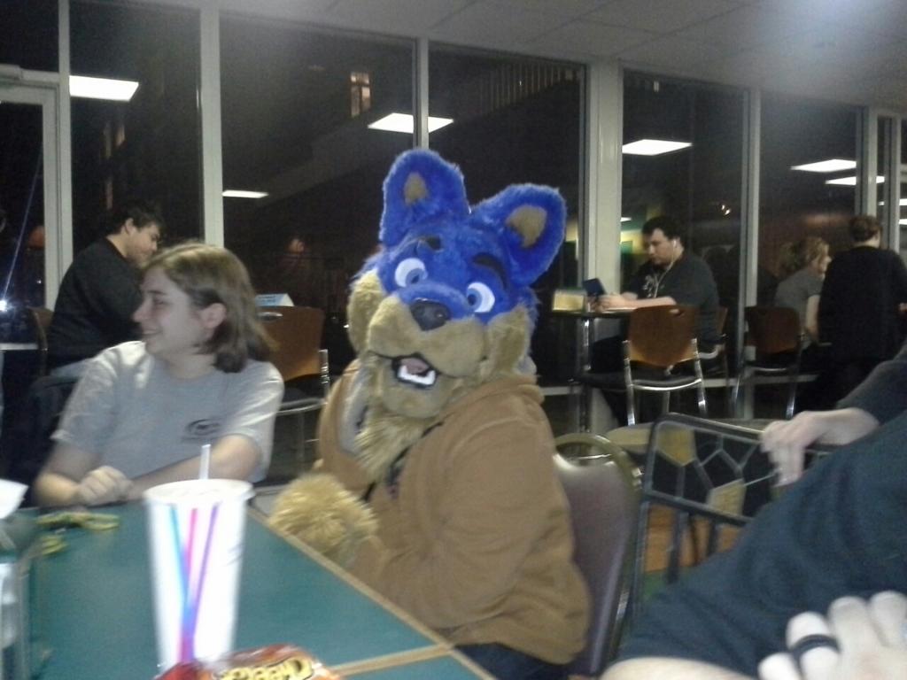 Most recent image: E at the Pub
