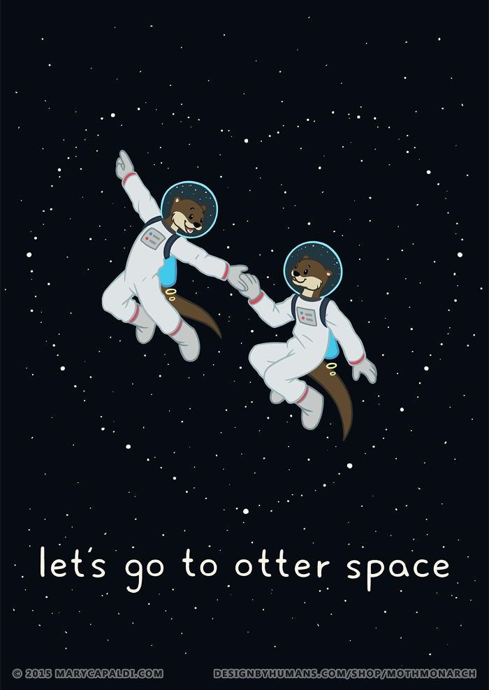 Let's Go to Otter Space