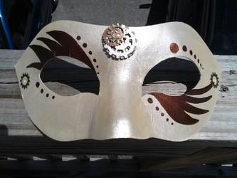 Steampunk Mask WIP