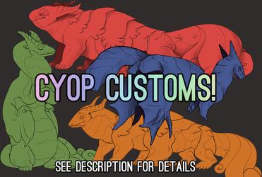 [Adopts] CYOP Lap Lizards
