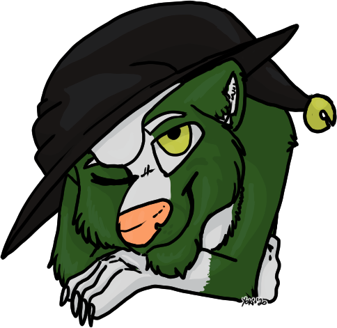 Witchy Headshot - For greenpanunk