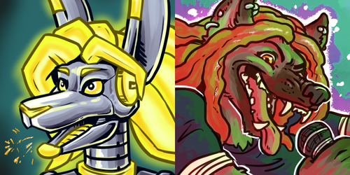 Icons - Cyber Roo & POID
