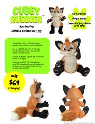 Jun the Fox (finally available!)