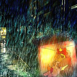 the night a entei kept me warm and safe (color)