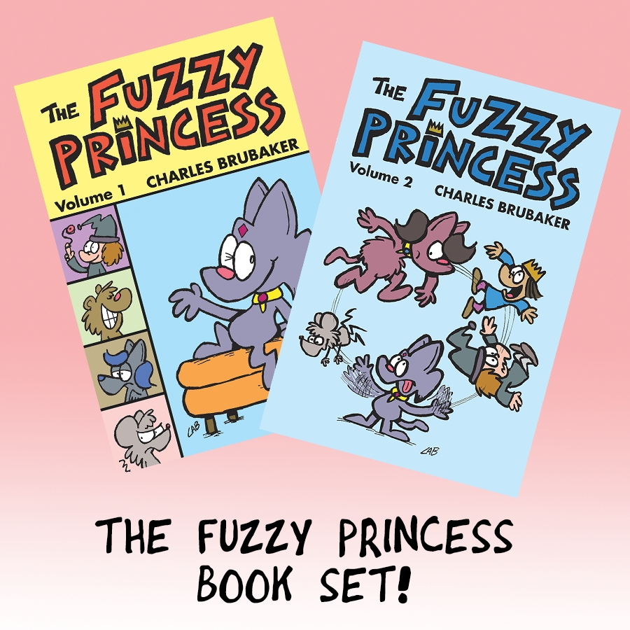 Fuzzy Princess book set!