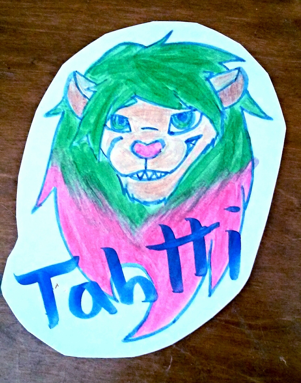 Most recent image: Tahtti badge