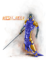 Metal Gear Ferret - Gray Fox