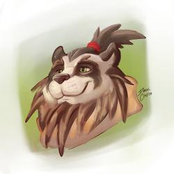 Painting - Panda