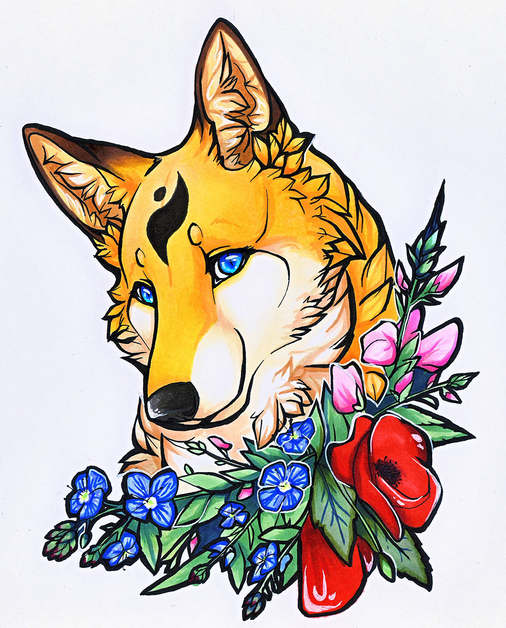 Most recent image: Floral Vixen