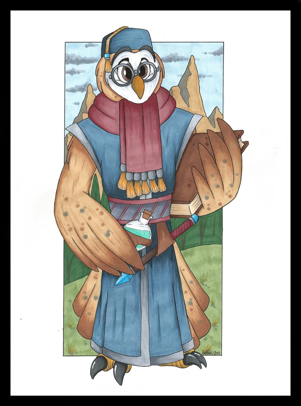 Cornelius, Owl Wizard